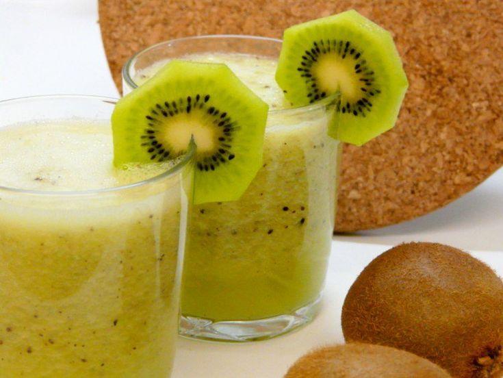 Bebida diurética con kiwi y piña ¡Excelente combinación!