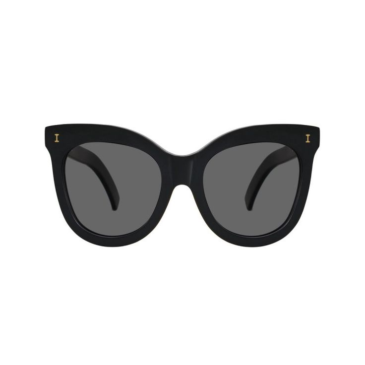 Illesteva Holly Black Sunglasses - Shop the old Hollywood trend at ShopBAZAAR.com http://shop.harpersbazaar.com/new-arrivals/trending-now/
