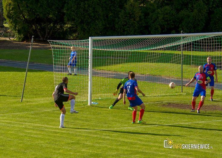 Pierwsze zwycięstwo Unii Skierniewice na boiskach IV ligi
