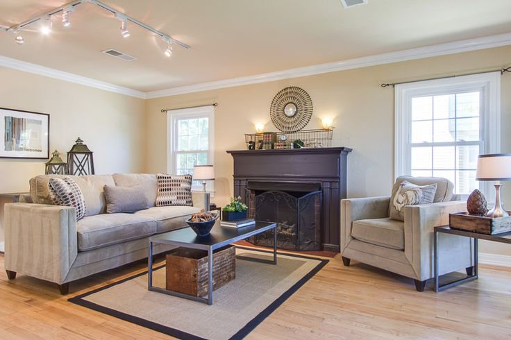 Dallas, TX Home Staging By Home Star Staging, Formal Living Room Staging,  Mixing