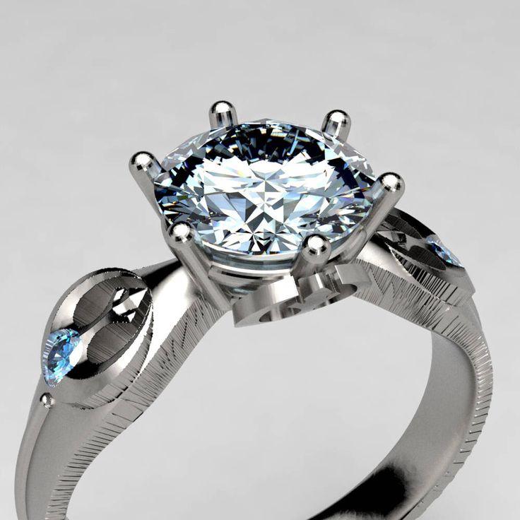 25 best ideas about geek wedding rings on pinterest