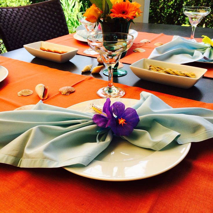Suf Party Decoration / Napkins /Table details