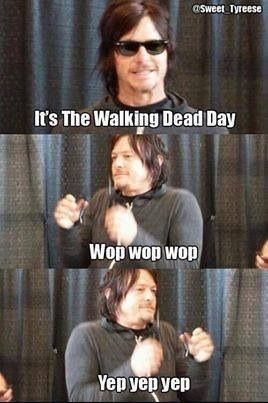 That's exactly what I call Sundays! I tell people don't ask me to do anything, it's Walking Dead day
