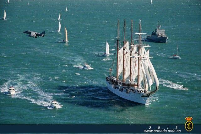 Juan Sebastián de Elcano - Buques Escuela - Galería Fotográfica - Armada Española - Ministerio de Defensa - Gobierno de España