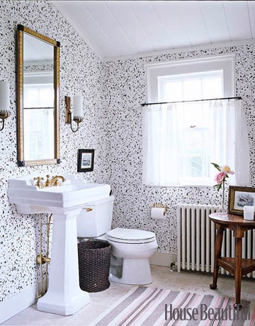 The best bathroom designs Tom scheerer house beautiful