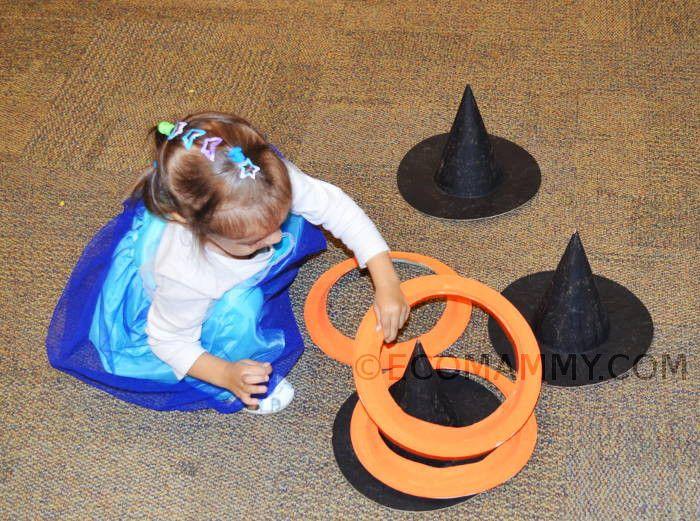 Как отметить Хэллоуин с ребенком дома. игры на Хэллоуин с детьми: шляпа ведьмы