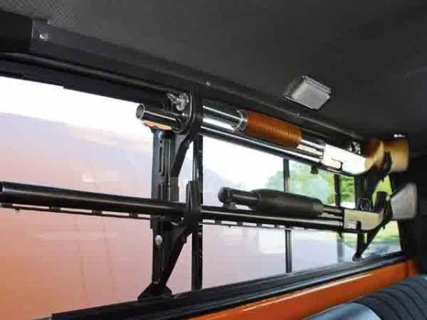 gun rack for truck