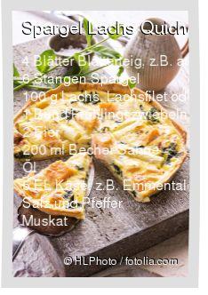 Leckeres Spargel Lachs Quiche Rezept mit einfacher Schritt-für-Schritt-Anleitung: Form mit Öl einfetten und mit Blätterteig auslegen (inklusive Innenra...