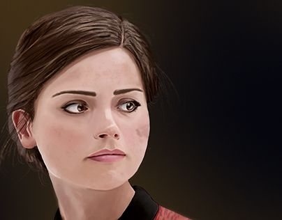 """Check out new work on my @Behance portfolio: """"Clara Oswald"""" http://be.net/gallery/40270249/Clara-Oswald"""