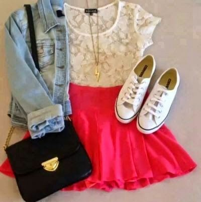 Super na Moda: Outfits inspiration - Back to school ♡ #2
