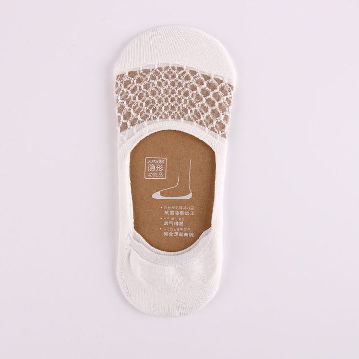Women Summer Mesh Transparent Invisible Antiskid Boat Sock Breathable Shallow Low Cut Socks online - NewChic