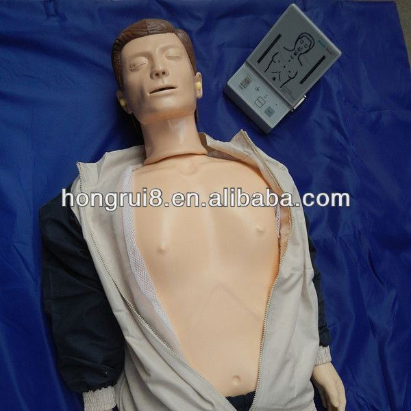 """""""ISO Advanced CPR Training manikin, cpr and first aid training dummy"""""""