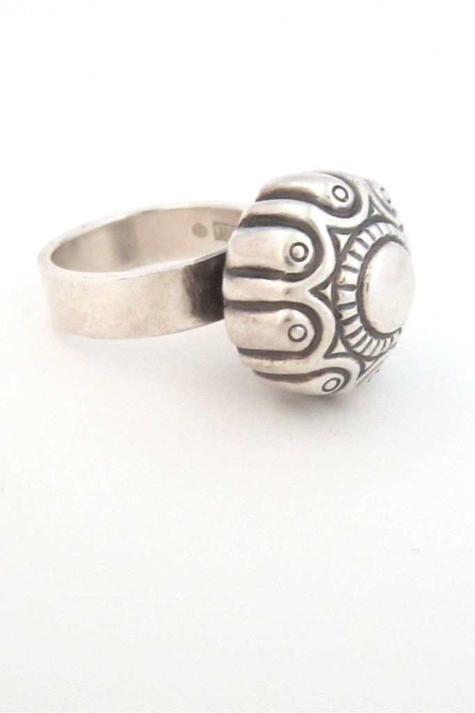 Kalevala Koru, Finland - vintage silver ring