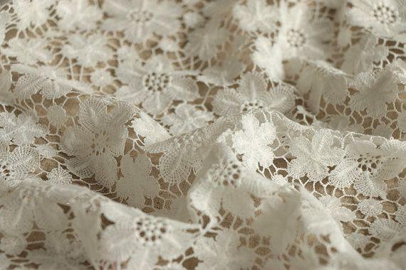 White Floral Lace