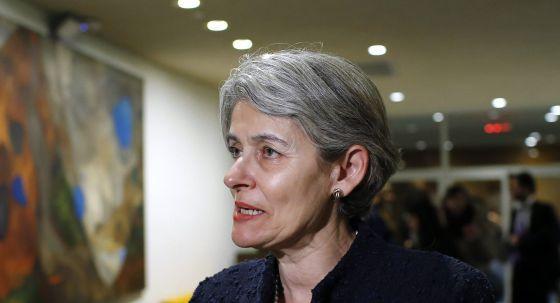Irina Bokova, directora general de la Unesco. / Eduardo Muñoz (Reuters)