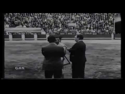 1970 Luis Miguel Dominguín - Antonio Bienvenida - Festival Damnificados Perú - Deborah Kerr - YouTube