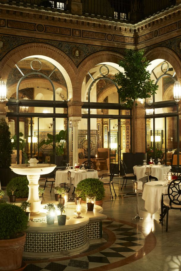 Alfonso XIII Hotel,  Seville, Spain. I had the pleasure of staying in this hotel in 1970!