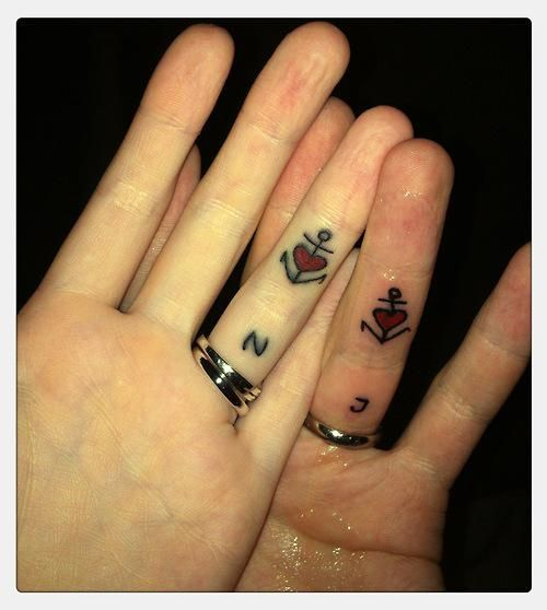 24 best couples anchor tattoos images on pinterest