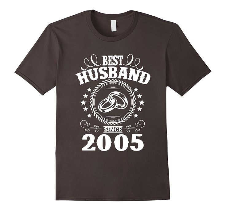 17th Anniversary Gift For Wife: 12nd Wedding Anniversary T-Shirts For Husband From Wife