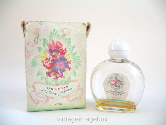 Atkinsons Day Time Chypre perfume bottle with by VintageImageBox