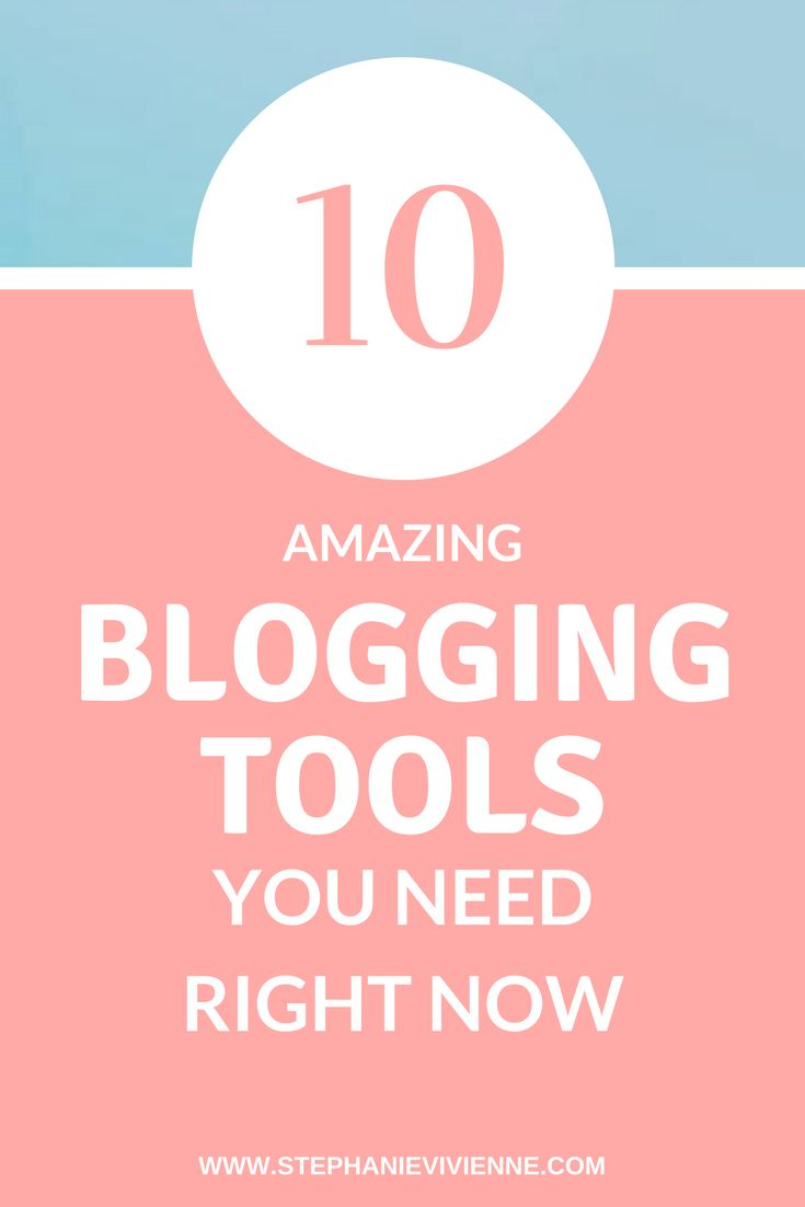 Want to know some of my top blogging tools that will make your life much easier? Here are 10 free blogging tools that all bloggers should have! These tools are perfect for beginner bloggers so check them out!