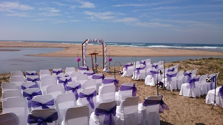 A beach wedding venue and log cabin reception - stunning - http://www.weddingflair.co.za/item/illovo-africa-lodge/