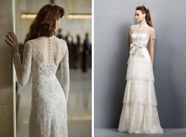 Victorian splendour victorian lace lace wedding dresses for Victorian style wedding dress