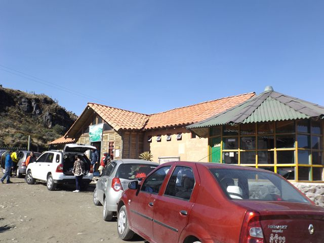 the first cabin: Brisas. The place where we purchased the tickets to go into ''Parque de los Nevados'', About 10 bucks per person...www.colombiatravelmagazine.com