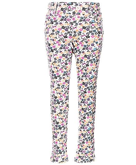 United Colors of Benetton Jeggings Floral Print - Multicolour http://www.firstcry.com/ucb/united-colors-of-benetton-jeggings-floral-print-multicolour/576898/product-detail