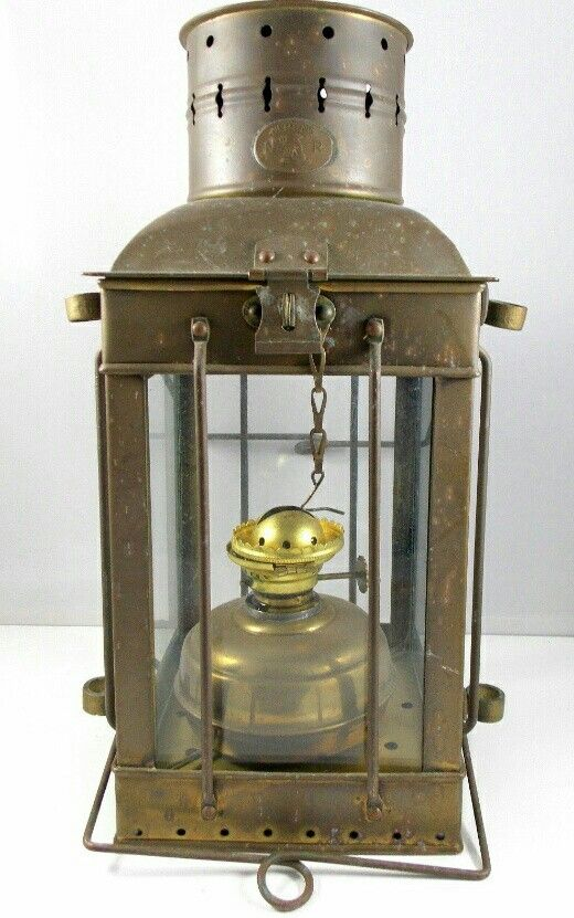 Vintage Circa 1920 S 1930 S Neptune Brass Nautical