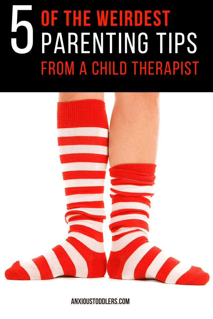 We are all filled to the brim with obvious parenting tips and advice. Here are 5 of the weirdest, wackiest parenting tips offered by a child therapist.