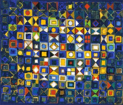 O pintor Manuel Cargaleiro nasceu em 1927 numa pequena aldeia portuguesa, Chão das Servas, Vila Velha de Rodão, distrito de Castelo Bran...