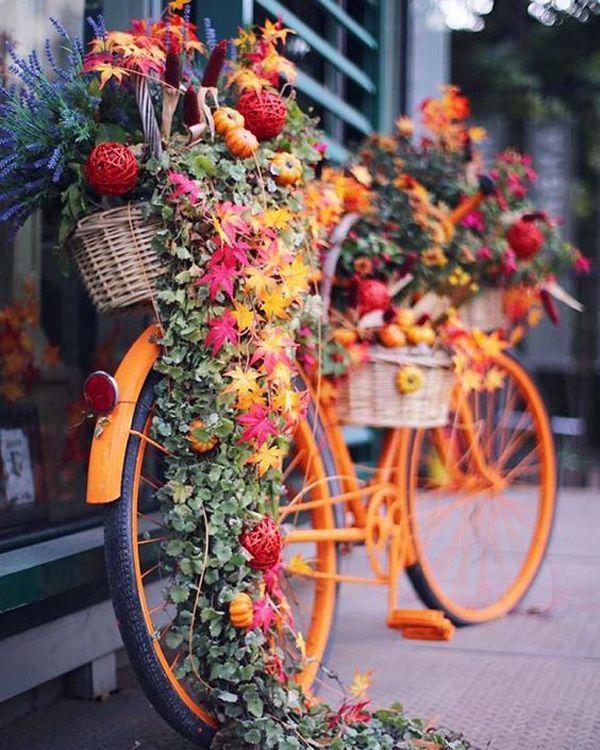22 DIY Fahrradpflanzgefäße mit Vintage Vibe – Carolyn Koker – Garten Deko