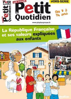 La République française et ses valeurs expliquées aux enfants
