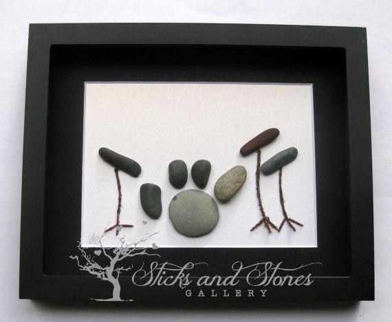 Drummer Gift-Pebble Art Drum Kit  Music Teacher by SticksnStone