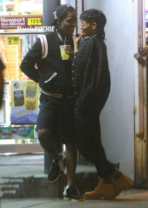 Asap Rocky & Rihanna