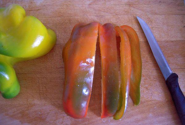 Peperoni fritti   Ricette di cucina con foto