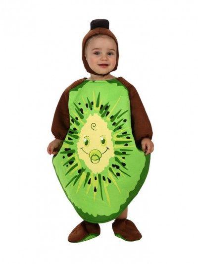 #disfraz #carnaval de kiwi para #bebe