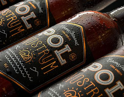 Pol Nostrum Ale. Identity & packaging.