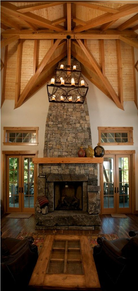 Fireplaces Great Rooms And Room: 17 Best Images About Rustic Great Rooms On Pinterest