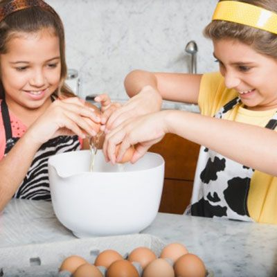 Top Chef Kids in the Kitchen  Host a showdown in your own kitchen, complete with secret ingredients, a judges' panel, and daring cooking — all for kids.