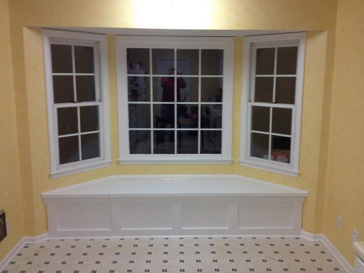 Build A Bay Window Seat Ideas