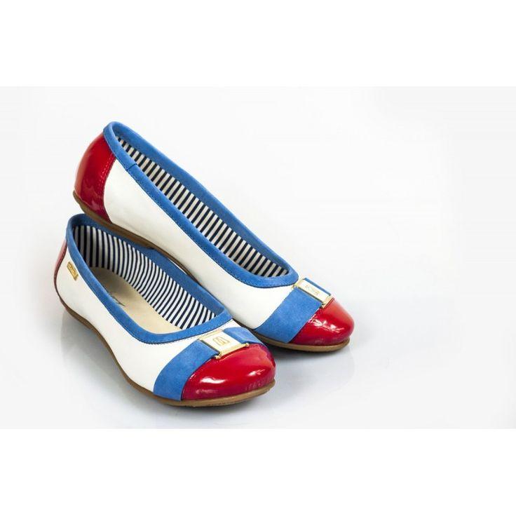 Dámske kožené balerínky DT226 - fashionday.eu
