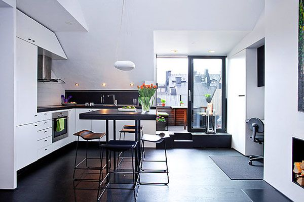 Perfect Layout Inspired by Lovely 54 Sqm Apartment in Stockholm | Freshome