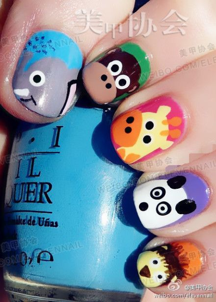 animal nail lacquer. Need to keep this in mind for when the girls are a little older. :)