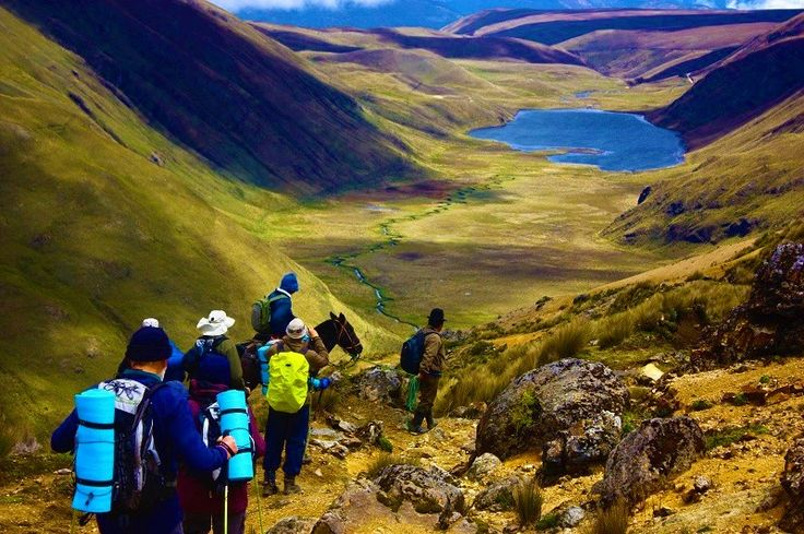 "SECOND DAY OF INCA TRAIL – WAYLLABAMBA – WARMIWAÑUSCA -PACAYMAYO: You will taste a filling breakfast, since the second day of the Inca trail demands more physical effort. After finishing breakfast, we will walk at a steady pace towards the ""Dead Woman"" or Warmiwañusca (4,200 m.a.s.l / 13,779 ft.). We will stop for a moment to enjoy the panoramic view of the mountains and the valley that surrounds us, all the physical effort to be realized will be compensated."