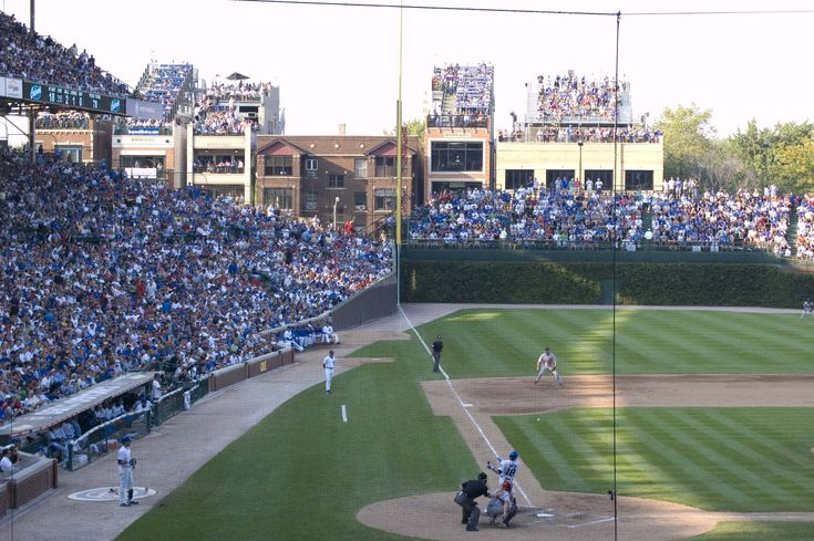Some day, I will go to Wrigley Field, and eat until I'm sick and probably have a couple beers, and cheer on the Cubs until the end of the game, which I knew they'd probably lose anyway. Doesn't matter. I love the Cubs, and I love Wrigley Field. It's pure Americana at it's best. #baseball #Cubs #America