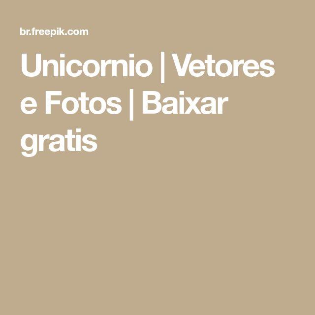 Unicornio | Vetores e Fotos | Baixar gratis