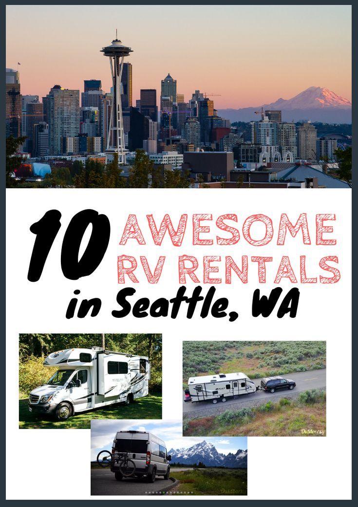 10 Best Camper & RV Rentals in Seattle, WA // Rent The