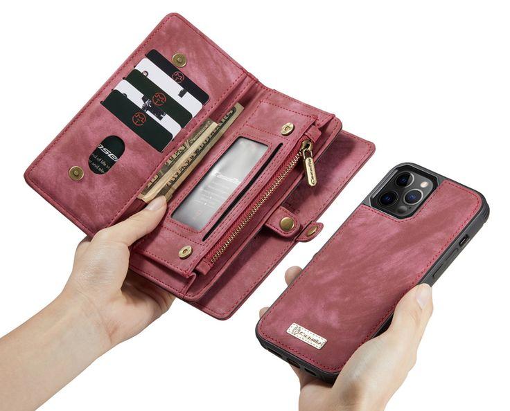 Caseme iphone 12 pro max detachable leather